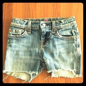 Blue designer shorts